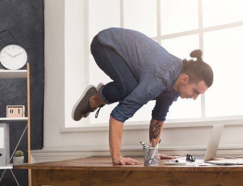 Adjusting to work at home